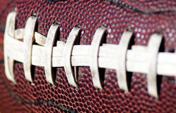 American Football Close up on Field Stock Image