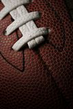 American football closeup Stock Photo