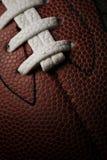 American football closeup stock photo