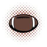 American football comics icon Stock Images