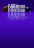 American football 3D text Stock Images