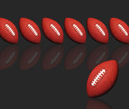 American football design Royalty Free Stock Images