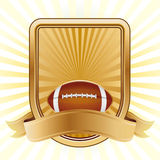 American football design element Royalty Free Stock Image