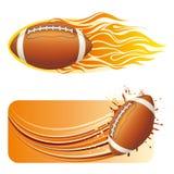 american football design element Stock Photography