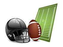 American football design elements Stock Photo