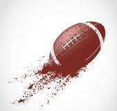 American football design Stock Images