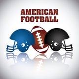 American football Stock Photography