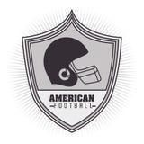 American football design Stock Photos
