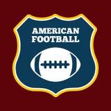 American football design Stock Photo