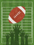 American football Stock Photography