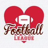 American football Royalty Free Stock Photo