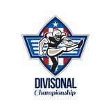 American Football Divisional Championship Stock Images