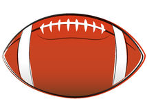 American football drawing Stock Images