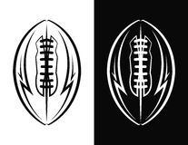 American Football Emblem Icon Illustration Royalty Free Stock Photo