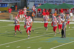 American football european championship Royalty Free Stock Images