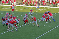 American football european championship Royalty Free Stock Photography