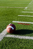 American Football on Field Stock Images