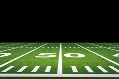 American football field Stock Photos
