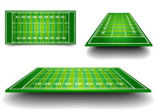 American Football Field Royalty Free Stock Image