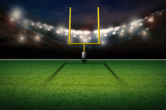 American football field goal post Stock Images
