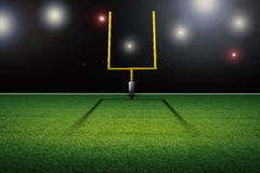 American football field goal post Royalty Free Stock Image