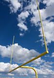 American Football Field Goal Posts Royalty Free Stock Image