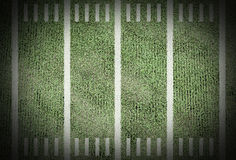 American football field. Line score match championship background game old stadium yard for design Royalty Free Stock Images