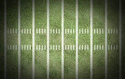 American football field. Line score match championship background game old stadium yard for design Stock Image