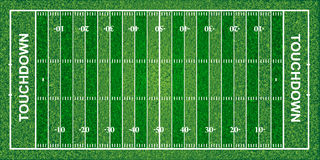 American football field, texture, vector illustration. File contains transparencies Stock Image
