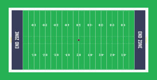 American football field top view.Vector illustration. American football field top view. Vector illustration Stock Images