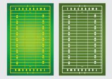 American football field. Vector  illustration  background  American Football field rugby Royalty Free Stock Photography