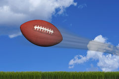 American Football. Royalty Free Stock Photo
