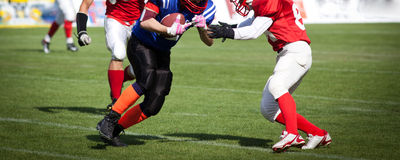 American Football Game Stock Images