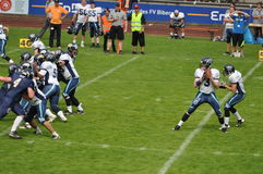 American Football game Royalty Free Stock Photo