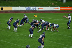 American Football game Royalty Free Stock Photos