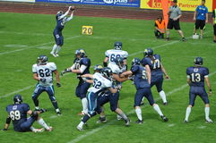 American Football game Stock Photos