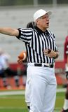 American football game - official calls a penalty Royalty Free Stock Photography