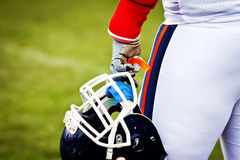 American football game Stock Photography