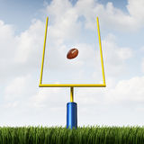 American Football Goal Royalty Free Stock Photos