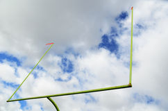 American Football Goal Posts Stock Photography