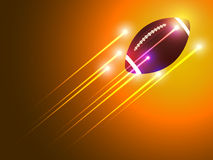 American football graphic background Stock Images