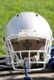 American football helmet. In closeup Royalty Free Stock Photography