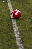 American football helmet Royalty Free Stock Photography