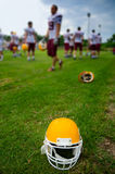 American football helmet Stock Photography