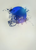 American football helmet background Royalty Free Stock Photos