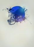 American football helmet background Royalty Free Stock Photos