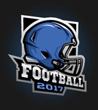 American football helmet. Games 2017 emblem.