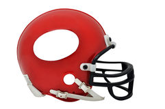 American Football Helmet Isolated Stock Photography