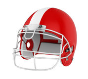 American Football Helmet Isolated. On white background. 3D render Stock Photos