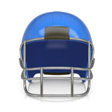 American football helmet. Isolated render on a white background Royalty Free Stock Image